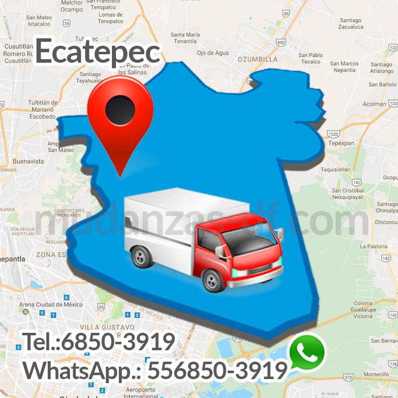 Servicio de Mudanzas en Ecatepec