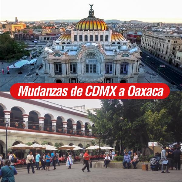 Mudanzas de CDMX a Oaxaca